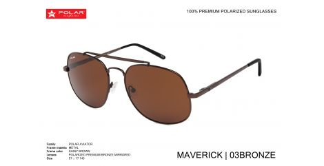 POLAR POLARIZED MAVERICK col.03/Bronze