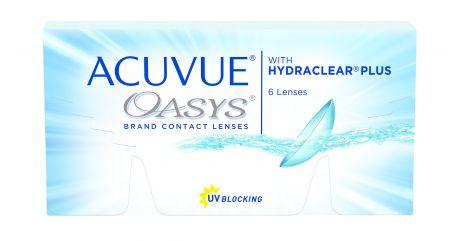 Acuvue Oasys (6 шт.)  + ПОДАРОК  (2 линзы Acuvue Oasys with Transtions)
